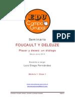 Clase 1 Foucault Deleuze