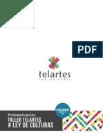 Sistematización Taller Ley Culturas Telartes Final