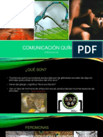 COMUNICACIÓN QUÍMICA FEROMONAS