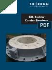 SXL Rudder Carrier Bearings Brochure