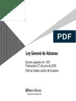 Ley Gral Aduanas Por Patricia VLG