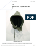 The Hoodie as a Sign, Screen, Expectation, And Force (EXCERPT) _ Threadbared