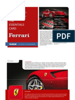 Ferrari by  | The Essentials Card by Luxury Attitude