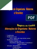 04 - Alterações Do Organismo Materno (ROGÉRIO)