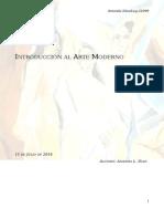 Notas de Introducción Al Arte Moderno