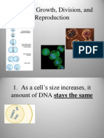 10.1 Cell Growth, Division