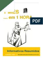 Informativos Resumidos - 1MES Em 1HORA