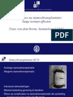 Van Den Borne. Complicaties Na Stamceltransplantatie Lange Termijn Effecten