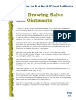 Drawing Salve & Ointments - Dr Keith Scott Mumby