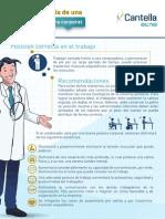 Guia Salud La Importancia de Una Buena Postura Cantella