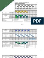 Programación Laboratorios Diurno - Ejecución Mecanica 2º 2014
