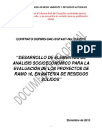 analisis socioeconomico