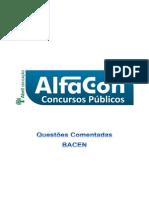 Alfacon Bacen Questoes Comentadas