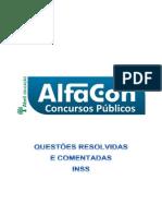 Alfacon Exercicios Comentados Inss