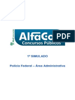 Alfacon Simulado Pf Adm Operacao 01 Primeiro