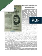 Wisata Syariah di Tapal Kuda, Ke Mana? (Harian Jawa Pos Radar Jember, 19 September 2014, Hlm. 1)