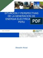 Perpectivas de La Generacion Electrica en El Pais_2007