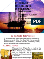Expo Historia Del Petroleo Diapositivas
