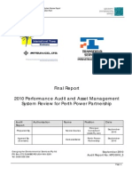 20101209 D56935 Perth Power Partnership - 2010 Performance Audit and Asset Management Review Report