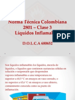 Norma Técnica Colombia 2801 – Clase 3
