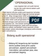 Audit Bidang Dana