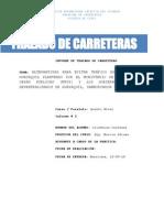 Trazado de Carreteras-Informe Puente Guayaquil