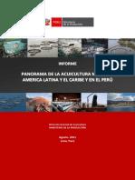 Informe Sobre La Acuicultura en El Peru