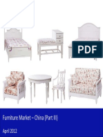 Furniture Market in China 2012 - Trends, Mergers Acquisitions