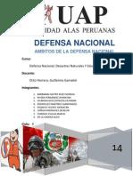 Ambitos de La Defensa Nacional
