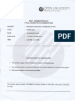 English for Oral Communication Final Exam Semester Mei 2010