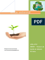UFCD 0719 Gestão Ambiental Índice