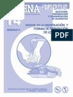 CADENA 14 - Higiene y Manipulación de Alimentos