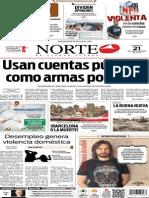 Periódico Norte edición del día 21 de septiembre de 2014