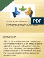 Conciliation Mediation Policy
