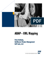 Abap XML Mapping