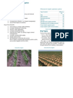 Methods and Techniques of Irrigation