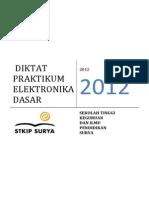 Diktat Praktikum Elektronika Dasar Stkip Surya Revisi
