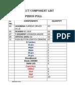 Component List