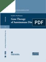 Gene Therapy of Autoimmine diseases