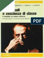 Bloch, Deborin - Intellettuali e Coscienza Diclasse 2