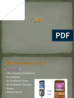 What is 1G ( First Generation of Wireless Telecommunication