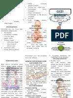 Leaflet Gizi Buruk
