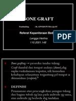 BONE GRAFT Presentasi-Akhmad Ahdiyat B-0318011002