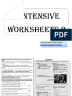 5 Intensive Worksheets