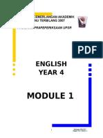 BI module 1 Year 4