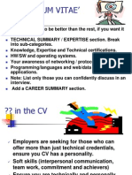 CV & Interview Skills