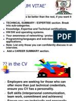 CV & Interview Skills