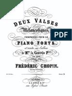 IMSLP97198-PMLP199847-Chopin Deux Valses Melancoliques Ewer First Print