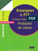 F_Desmons, F_Ferchaud, D_Godin, C_Guerrieri - Enseigner Le FLE_Pratiques de Classe