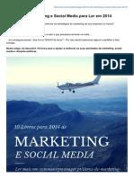 10 Livros de Marketing e Social Media para Ler em 2014